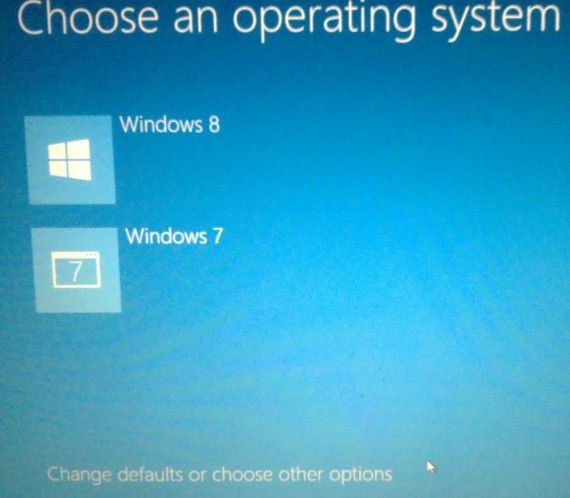 Start Windows8 in safe mode