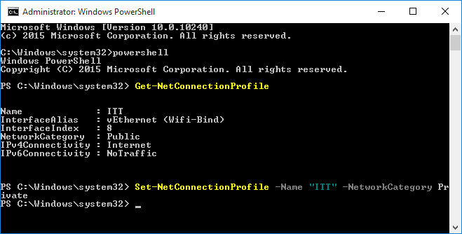 4 Ways To Change Network Type In Windows 10 (Public, Private or Domain)