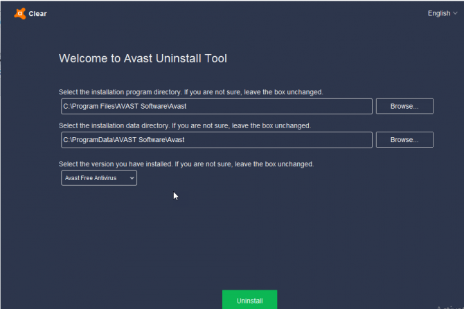 Download Antivirus Removal tools for all Antivirus Products