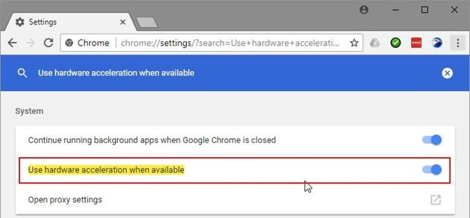 Disable Hardware Acceleration In Google Chrome, Firefox, Opera and