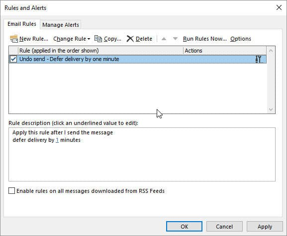 3 Ways To Undo Sending an Email In Outlook