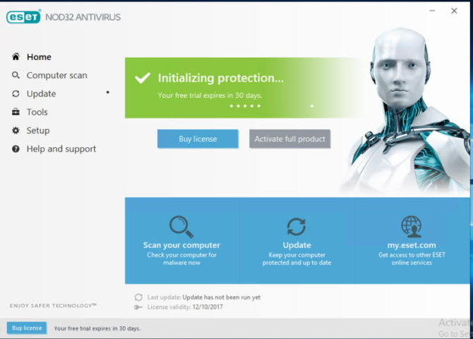 ESET 11 NOD32 Antivirus 2018 edition