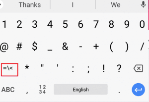 How To Insert Degree Symbol In Windows, Mac, Android And iOS