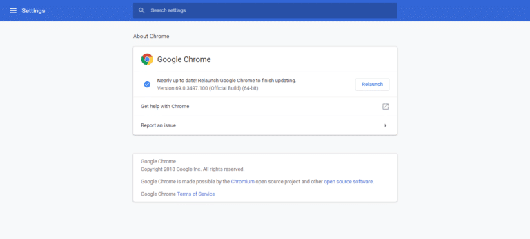 Download Google Chrome 70 for All Operating Systems
