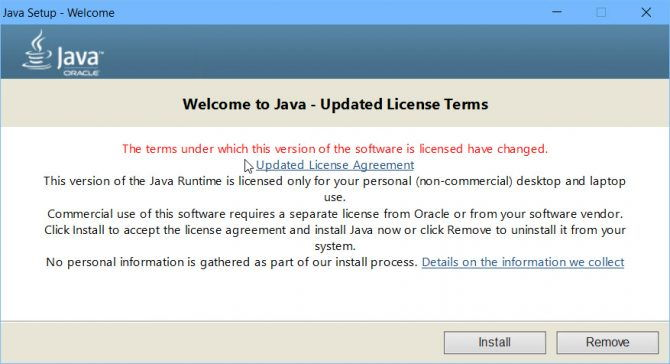 Welcome to Java new terms