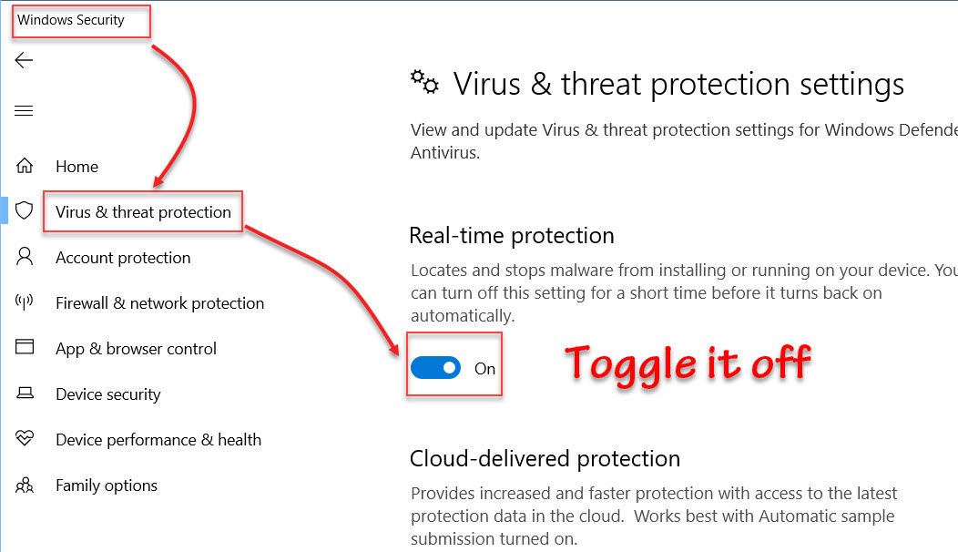 4 Quick Ways To Enable/Disable Windows Defender On Windows 10