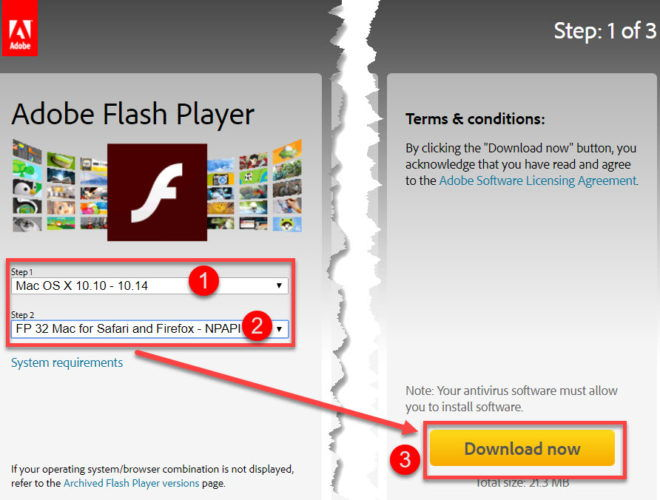 download free adobe flash
