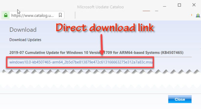 How To Download Any Windows 10 Cumulative Update